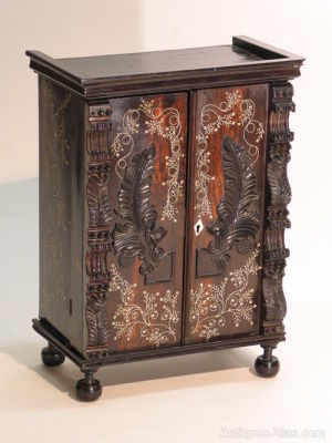 Late 19th Century Portuguese Colonial Cabinet