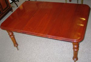 Victorian Mahogany Wind - Out Dining Room Table